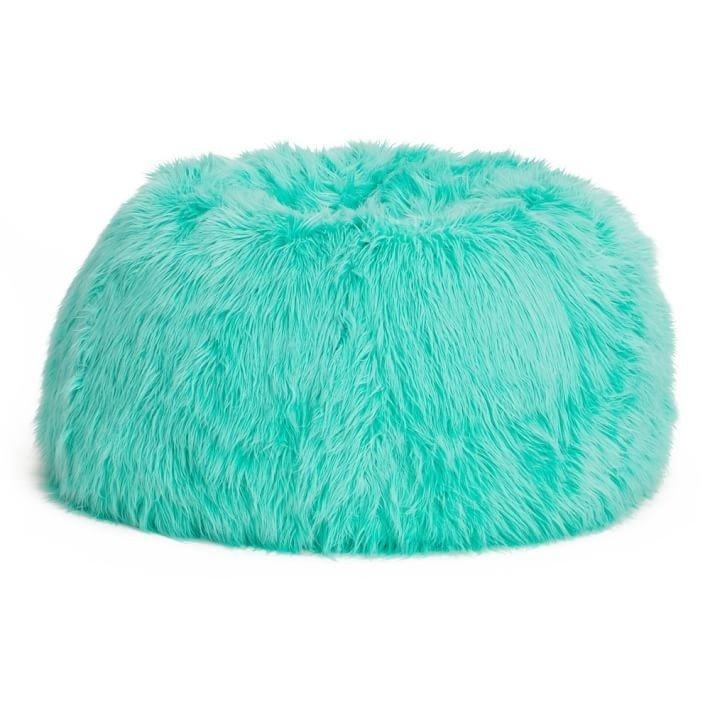 Exceptionnel Furry Bean Bag Chair