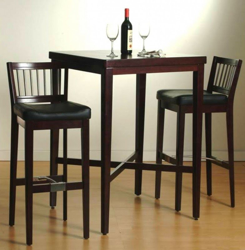 Beau High Kitchen Table With Stools   Ideas On Foter