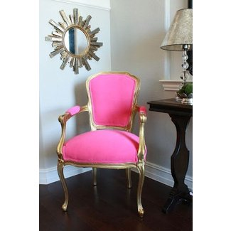 Hot pink chairs
