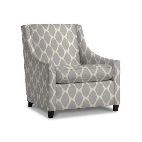 Ikat Print Chair 1