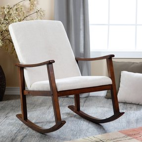 Indoor Wooden Rocking Chair