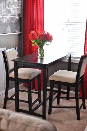 small bar table and chairs - foter Apartment Kitchen Table