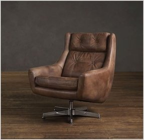 Leather swivel chairs 1