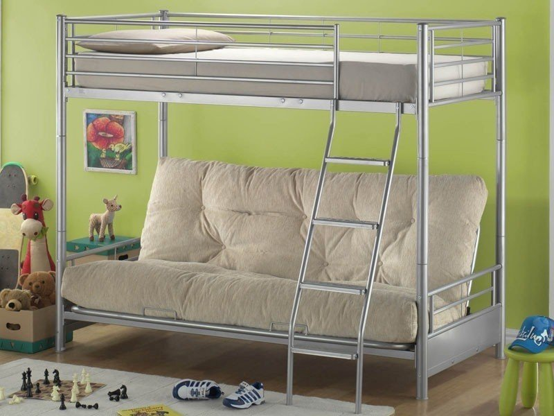 Futon Bunk Bed With Desk Ideas On Foter