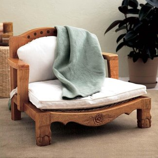 Lotus meditation chair