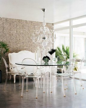 White Glass Dining Table Foter
