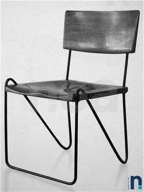 Metal Frame Dining Chairs 2