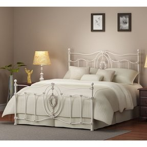Metro Ashdyn White Queen Bed
