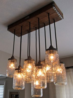 Mini chandelier lighting
