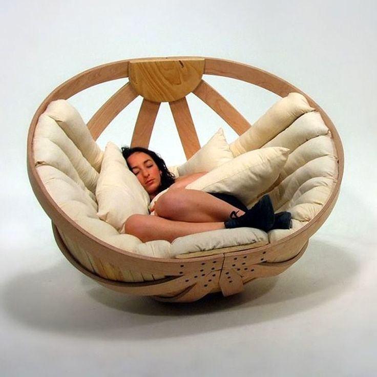 Charmant Modern Papasan Chair