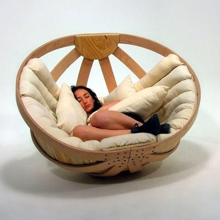 Beau Modern Papasan Chair