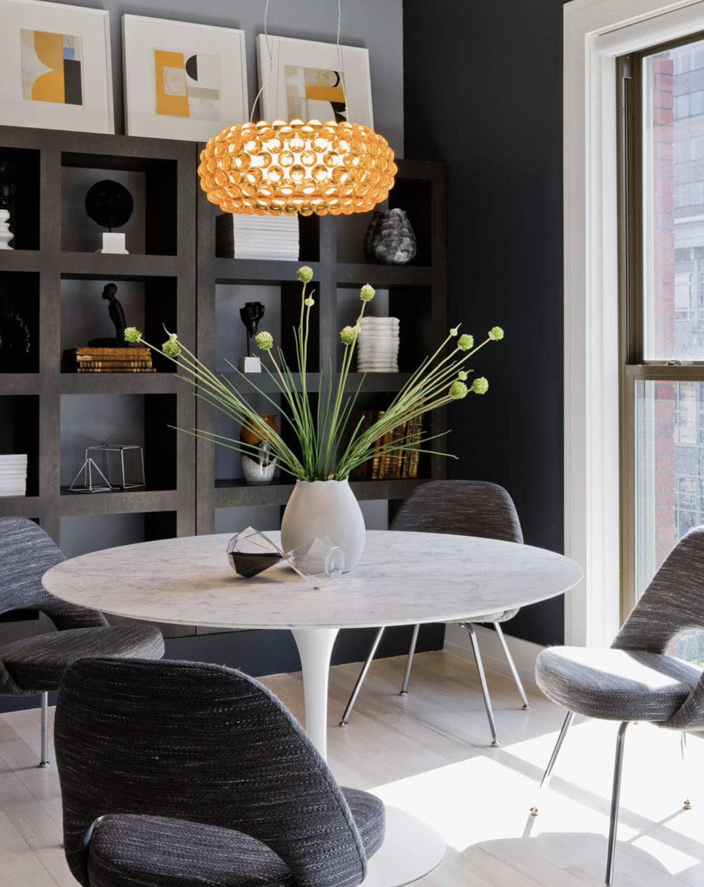 Modern Pedestal Table Base