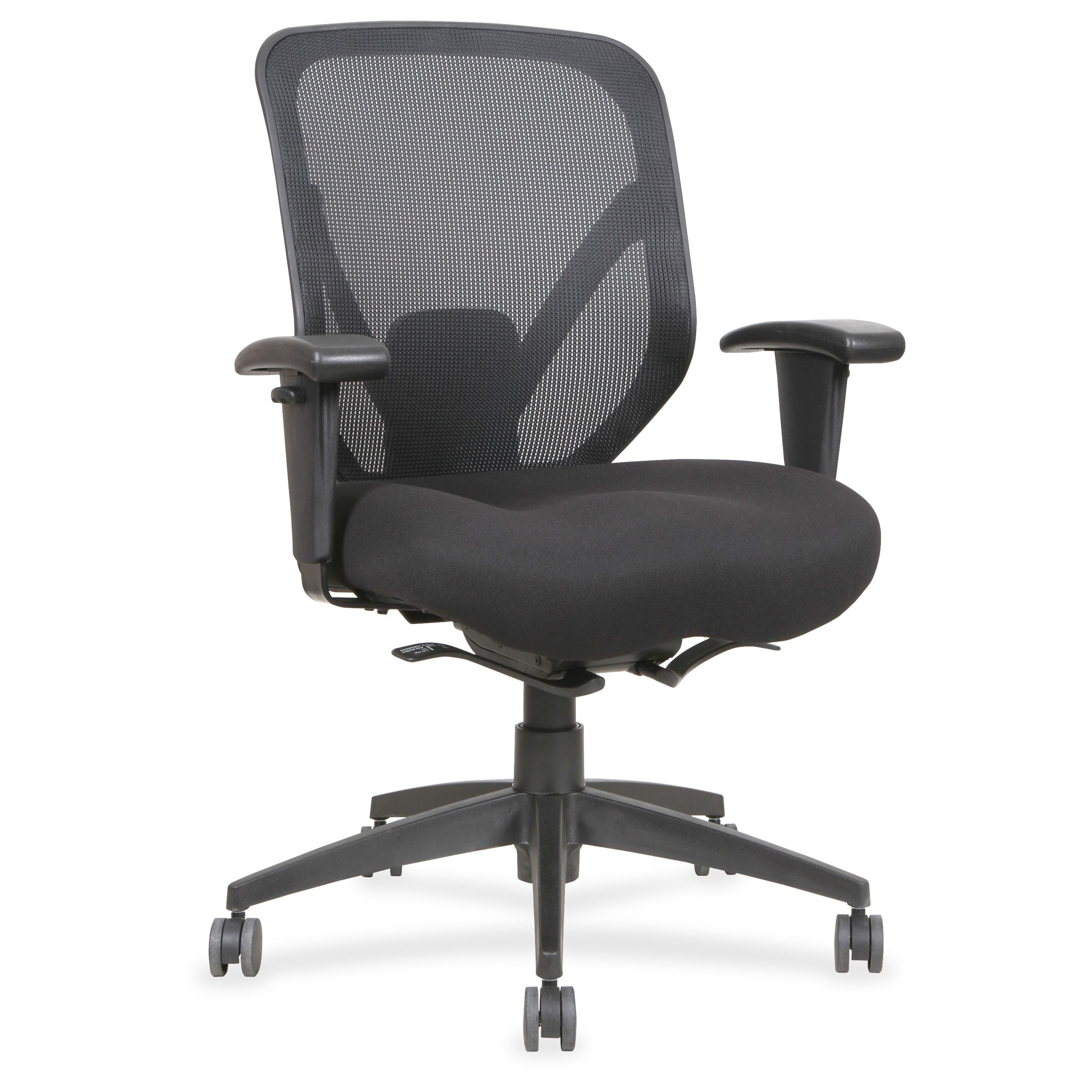 Ofm essentials series black mesh adjustable computer and task chair