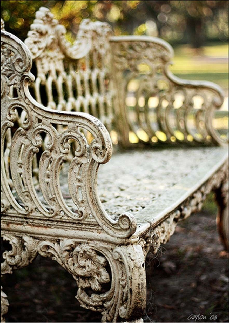 Old Garden Benches For Sale