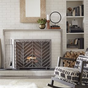 Other uses for fireplace screens