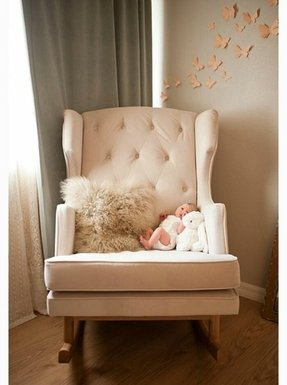An Absolutely Lovely Addition To Both S Or Children Bedroom This Enchanting Pink Rocking Chair Creates A Cozy Corner Read And Relax