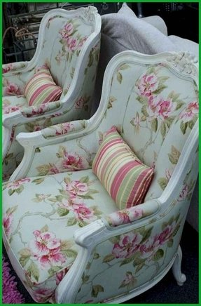 Pink Wingback Chair - Foter
