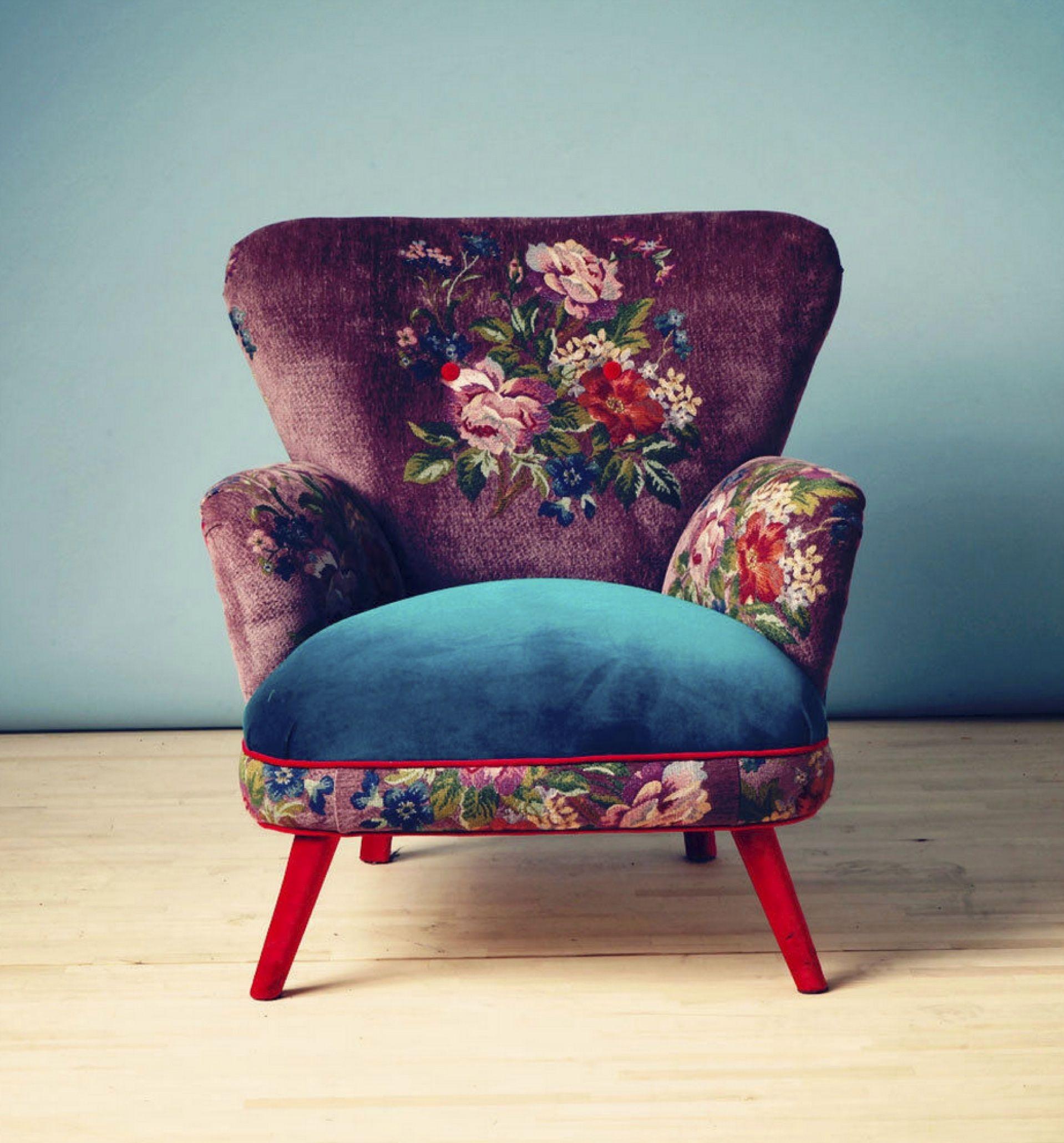 Delicieux Purple Velvet Chair