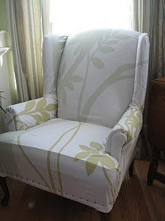 Queen Anne Chair Covers