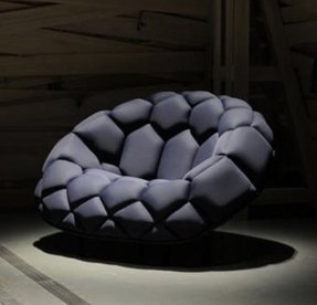 Quilt chair designed by ronan and erwan bouroullec for the