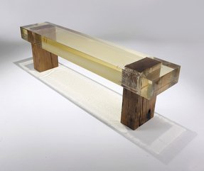Resin benches 1