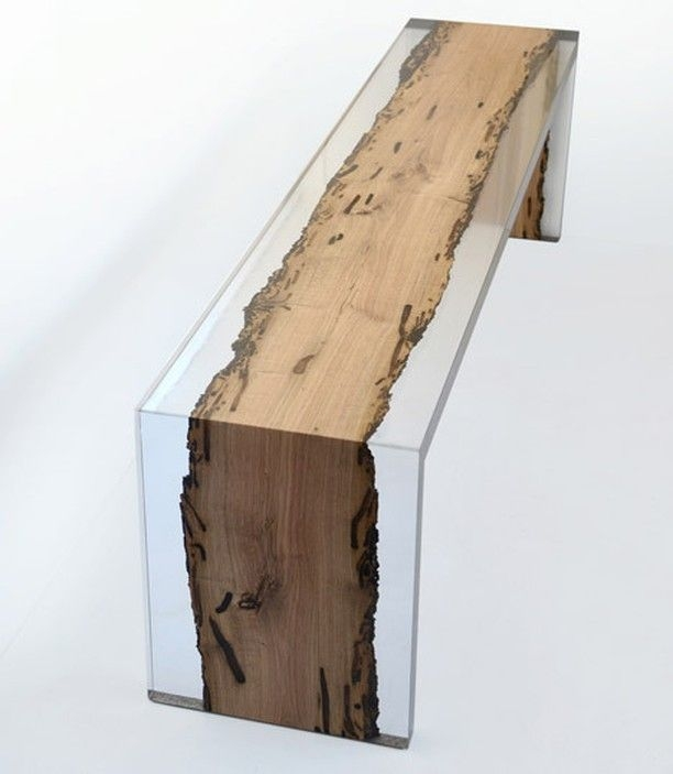 Resin benches