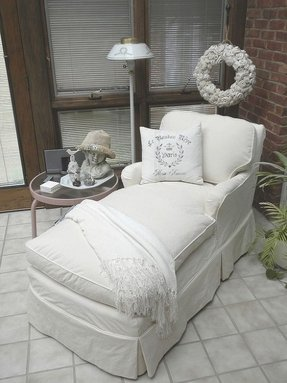 Reupholster chaise lounge