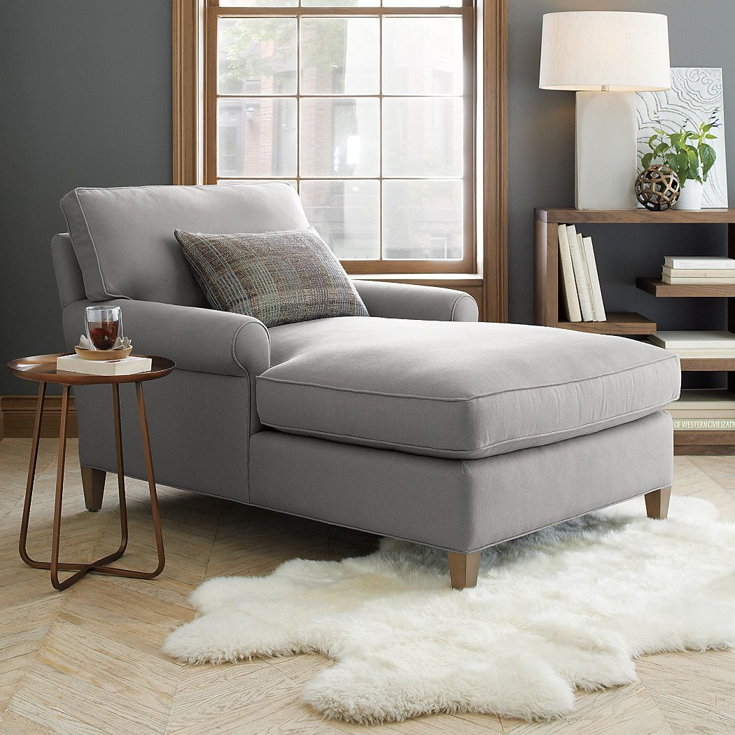 Right arm chaise lounge & Grey Chaise Lounge - Foter