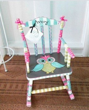 Rocking chair for toddlers