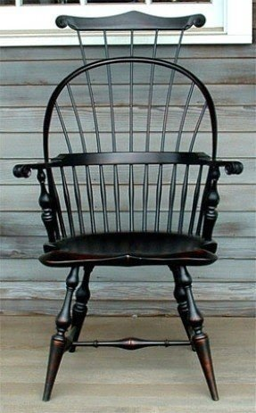 Sack Back Windsor Chairs For Sale 1