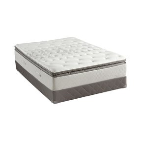 Sealy Posturepedic West Plains Cushion-Firm EPT Mattress and Box Spring (White)