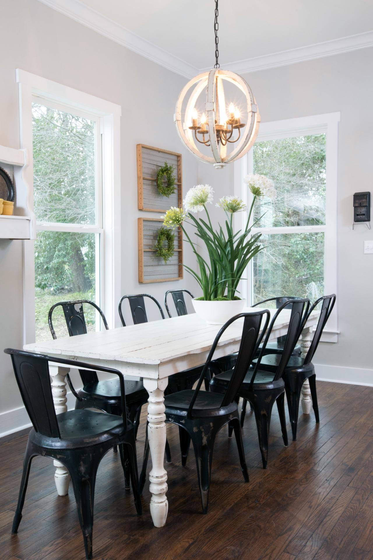 Charmant Steel Frame Dining Chairs