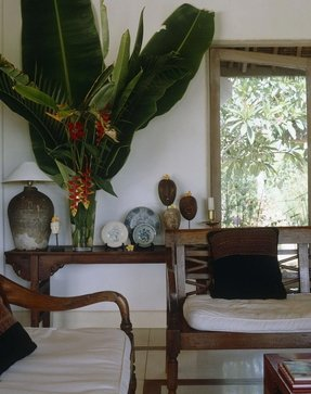 Tropical style furniture