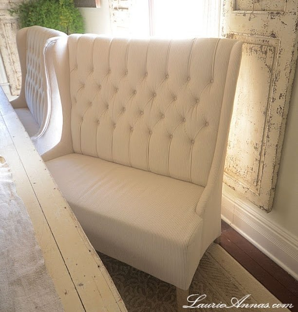 High Back Dining Bench Foter