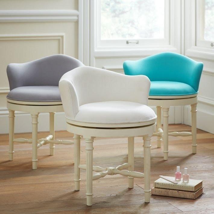 Vanity Swivel Chair