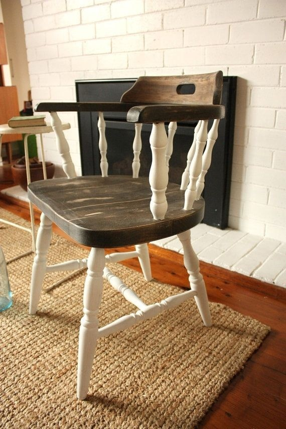 Genial Vintage Captains Chair Made In