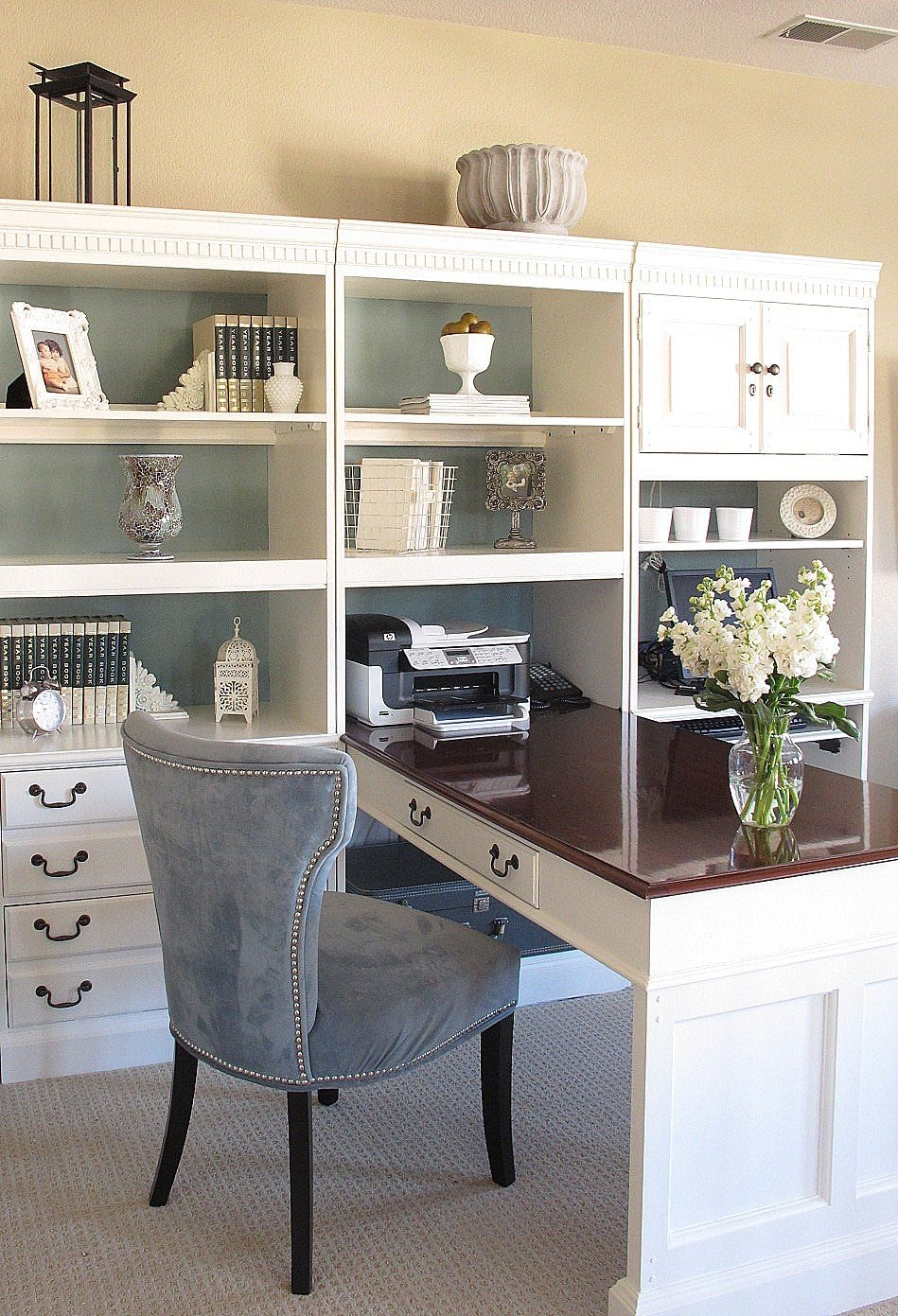 White Home Office Desks 1