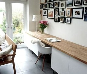 White Home Office Desks