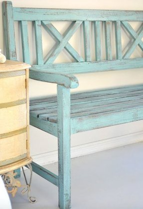 Wooden garden chairs 3