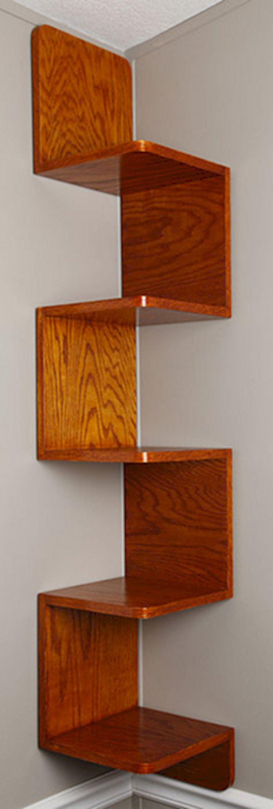 zig zag corner wall shelf ideas on foter rh foter com zig zag corner wall shelves Cat Wall Shelves