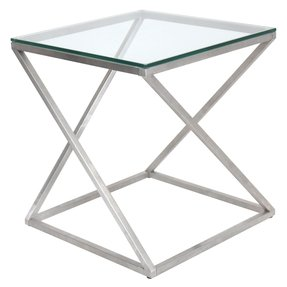 4z stainless steel modern end table 1