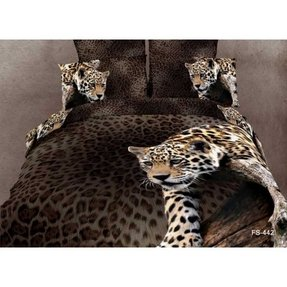 Animal print bedspreads and comforters