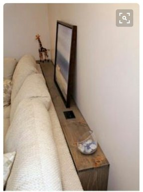 Narrow Console Table Behind Sofa