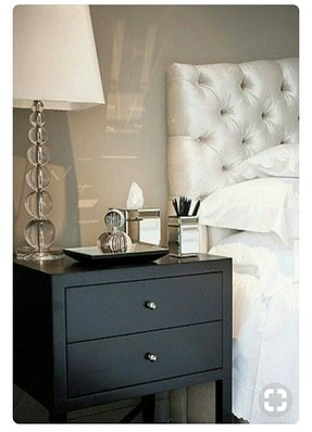 Black tufted headboards 12