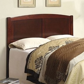 Bowers Mission Style Cherry Finish Full / Queen Size Solid Wood Headboard