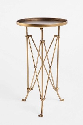 Brass end tables