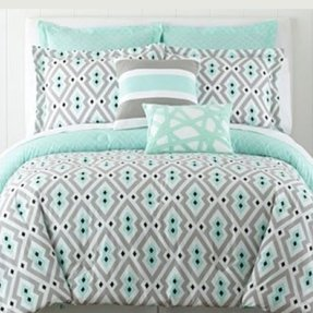 Bright color bedding