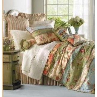 Brown Toile Quilt