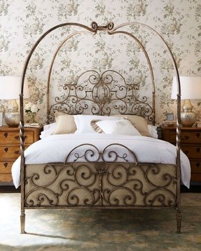Cast iron bedroom furniture 1