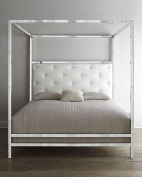 Chrome bedroom furniture 1